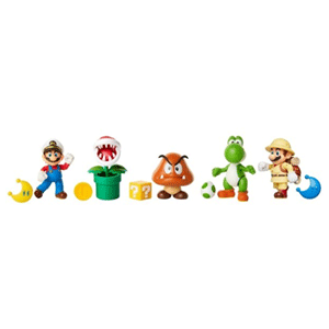 Surtido Figuras Super Mario 10 cm W17