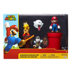 Diorama Super Mario: Mazmorra