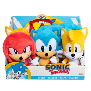 Surtido Peluches Sonic 18 cm W1
