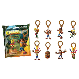 Crash Bandicoot Backpack Hangers
