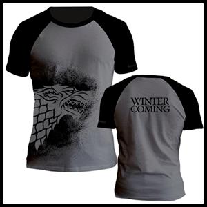 Camiseta Juego de Tronos: Stark Talla L
