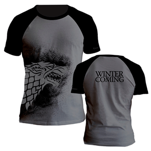 Camiseta Juego de Tronos: Stark Talla XL