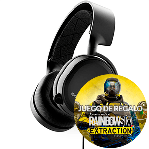 SteelSeries Arctis 3 Negro (2019 Edition) PC-PS4-XONE-SWITCH-MOVIL - Auriculares Gaming