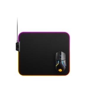 SteelSeries QcK Prism Cloth - M Tela RGB - Alfombrilla Gaming