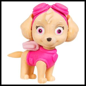 Blister Figura Borrador Patrulla Canina Paw Patrol Skye