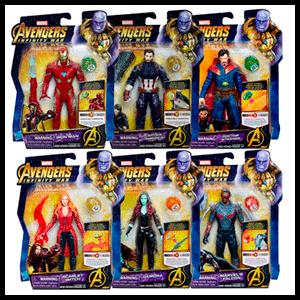 Figura Vengadores Avengers Marvel Surtido