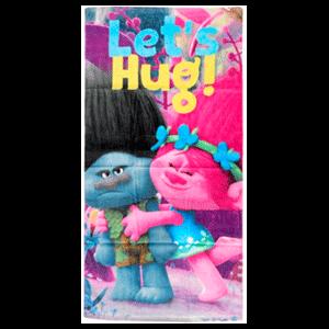 Toalla Trolls Lets Hug