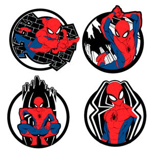 Posavasos Spider-Man