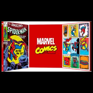 Set de Pins Retro Spider-Man