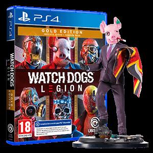 Figura Watch Dogs Legion + WD Legion Gold