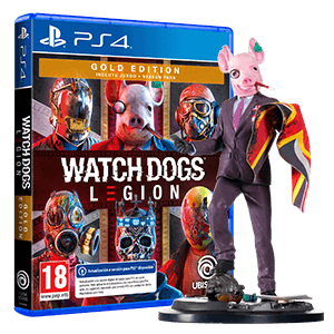 Watch Dogs Legion Gold Edition + figura Resistant of London