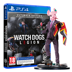 Watch Dogs Legion Ultimate Edition + figura Resistant of London