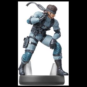 Figura amiibo Smash Solid Snake