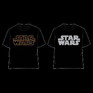 Camiseta Star Wars Logo Surtido