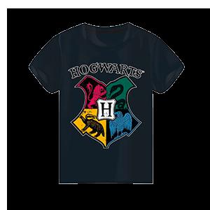 Camiseta Harry Potter Hogwarts Surtido