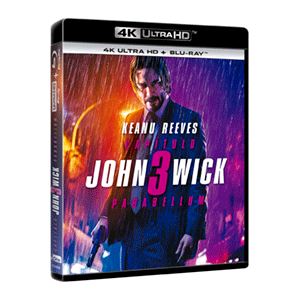 John Wick Capítulo 3 Parabellum 4K + BD