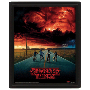 Cuadro 3D Stranger Things Mind Flayer