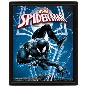 Cuadro 3D Marvel: Spider-Man y Venom