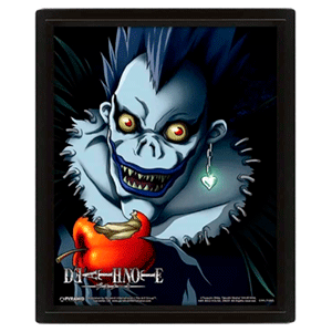 Cuadro 3D Death Note Light Ryuk