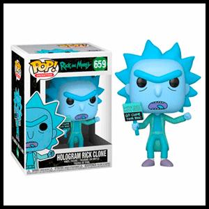 Figura Pop Rick y Morty: Hologram Rick