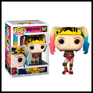 Figura Pop Birds of Prey: Harley Quinn Roller Derby
