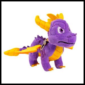 Llavero Peluche Spyro the Dragon