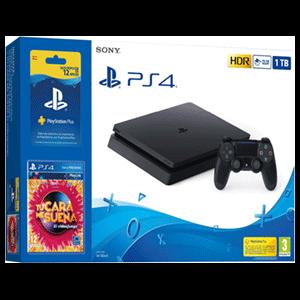 Playstation 4 Slim 1Tb + Suscripción 12 meses PS Plus + Tu Cara me Suena