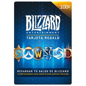 Pin Blizzard Battle.net 100 Euros