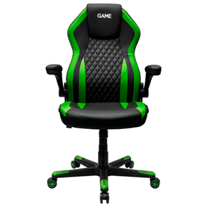 GAME Racing GT200 Verde-Negro - Silla Gaming