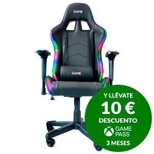GAME Racing ELITE RGB GT400  - Silla Gaming