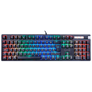GAME KX500 Mecánico Red Switch RGB - Teclado Gaming