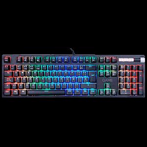 GAME KX500 Mecánico Red Switch RGB - Teclado Gaming