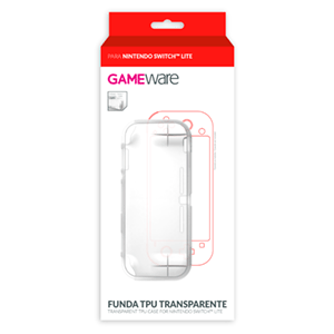 Funda TPU Transparente para Nintendo Switch Lite GAMEware