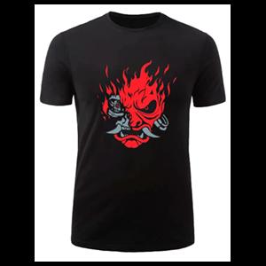 Camiseta Cyberpunk 2077 Samurai Talla M