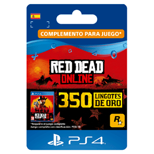 Red Dead Online 350 Gold Bars PS4