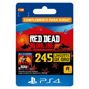 Red Dead Online 245 Gold Bars PS4