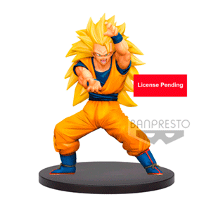 Figura Banpresto Dragon Ball Super Chosen Super Saiyan 3 Son Goku