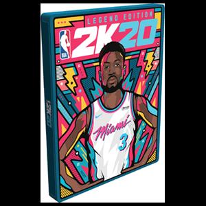 NBA 2K20 Edición Leyenda - Caja metálica