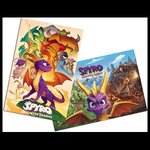 Spyro Reignited Trilogy NSW - Póster