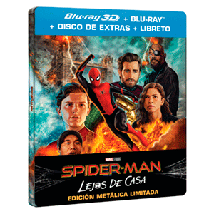 Spider-Man Lejos de Casa - Steelbook BD 3D + 2D