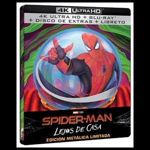 Spider-Man Lejos de Casa - Steelbook 4K + BD