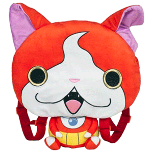 Mochila Yo-Kai Watch 36cm: Jibanyan (REACONDICIONADO)