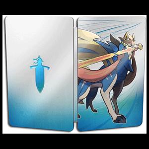 Pokémon Espada - Caja metálica