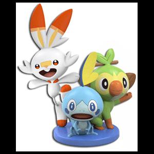 Pokémon Espada/Escudo Edición Dual - Figura