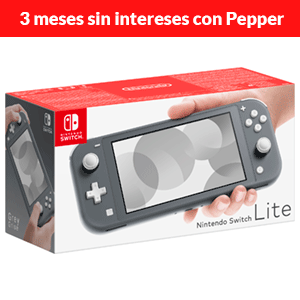 Nintendo Switch Lite Gris