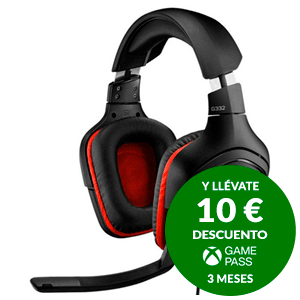 Logitech G332 PC-PS4-XONE-SWITCH-MOVIL - Auriculares Gaming