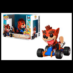 Figura Pop Crash Bandicoot: Crash Bandicoot en Kart