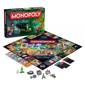 Monopoly: Rick y Morty