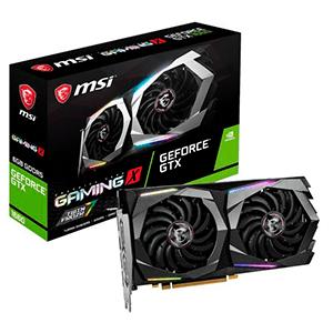 MSI GeForce GTX 1660 Gaming X 6GB GDDR5 - Tarjeta Gráfica Gaming