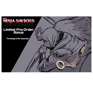 The Ninja Saviors - Llavero